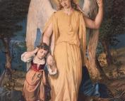 angel guardian and child