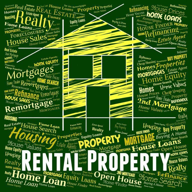 Rental Property wordcloud